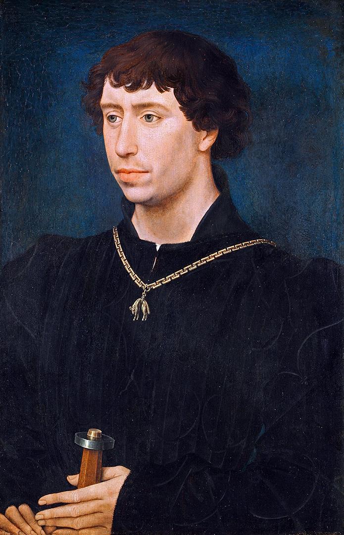 Karl der Kühne, Porträt um 1460.