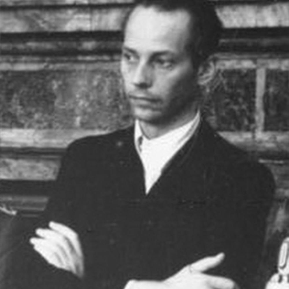 Peter Graf Yorck von Wartenburg vor dem Volksgerichtshof, 1944.
