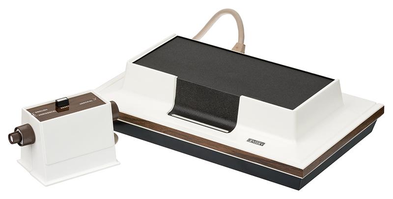 1972 kam die erste Konsole Magnavox Odyssey auf den Markt.