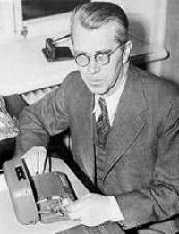 Boris Hagelin um 1940.