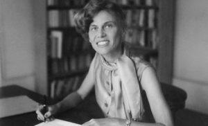 Portrait d'Iris von Roten, vers 1950.