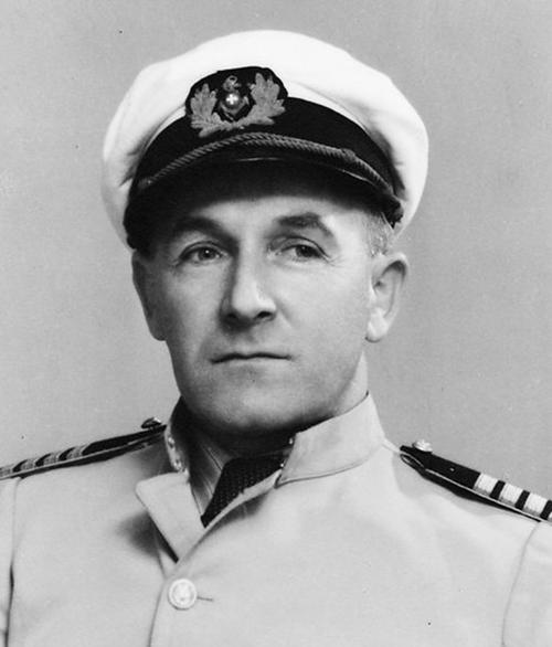 Kapitän Fritz Gerber.