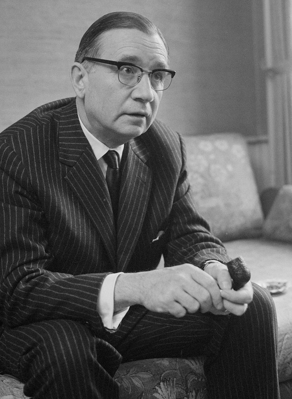 James Schwarzenbach.