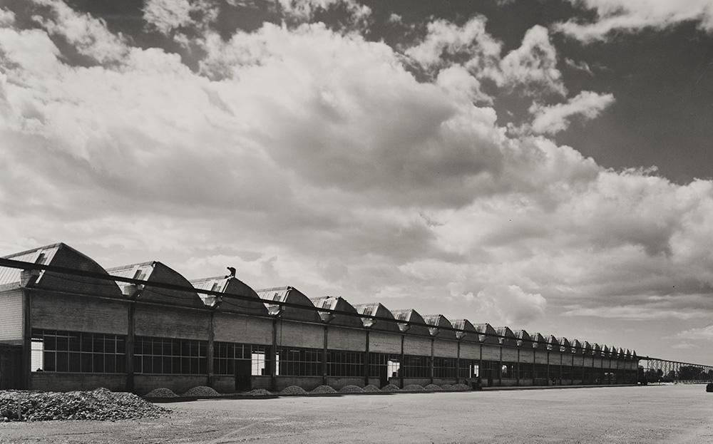 SBB track superstructure factory in Hägendorf, Solothurn, 1959.