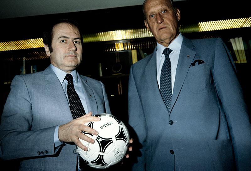 Sepp Blatter und Joao Havelange in den 1990er-Jahren.