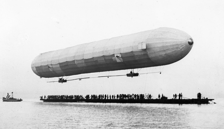 Der Start des Luftschiffs wurde um mehrere Stunden auf 20 Uhr verschoben.