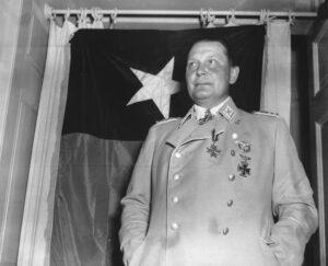 Hermann Göring following his arrest in May 1945.
