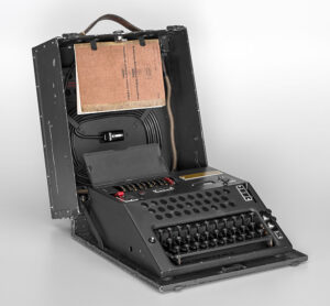 Switzerland's Nema cipher machine came into use from 1947.