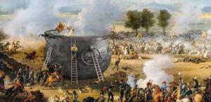 Mit Muskete, Säbel und Kochtopf wehrte sich Genf 1602 gegen einen Angriff der Savoyarden.
