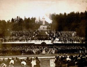 500-Jahr-Feier der Schlacht bei Sempach, 1886.