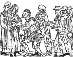 Tithing in the Middle Ages.