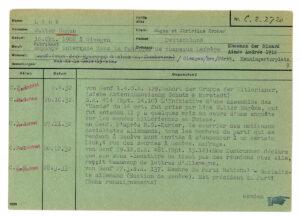 Die Tätigkeiten von Eugen Link wurden minutiös überwacht.