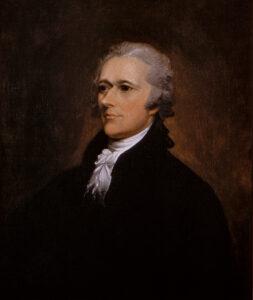Alexander Hamilton, um 1805.