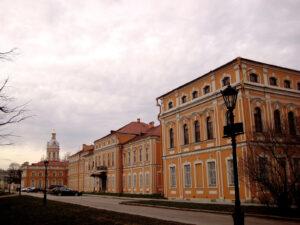 Das Alexander-Newski-Kloster, errichtet 1715 bis 1722.