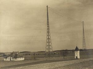 Antenne der Marconi Radio Station AG in Münchenbuchsee