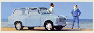 Advertising brochure Trabant 601 Universal, 1965.