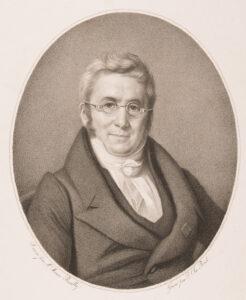 Raymonds Urgrossvater, der Botaniker und Naturwissenschaftler Augustin-Pyrame de Candolle, um 1850.