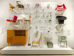 Installation view «German Design 1949–1989: Two countries, one history».
