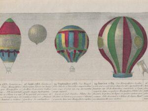 Voler, un rêve vieux comme l'humanité: au XVIIIe siècle, les vols en ballon fascinent les foules, en Suisse comme ailleurs.