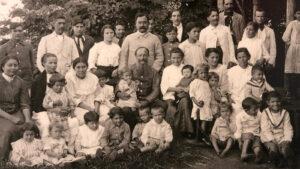 Die Familie Bertoni, nach 1900.
