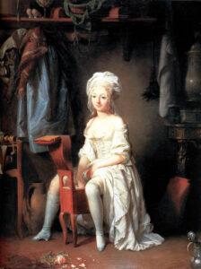 La Toilette intime ou la Rose effeuillée, peinture de Louis-Léopold Boilly (1761–1845), année et lieu inconnus.