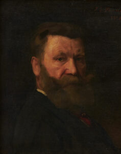 Portrait of Karl Silvan Bossard, painted by Jean Syndon-Faurie, 1909.