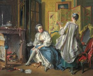 François Boucher, La Toilette, 1742.