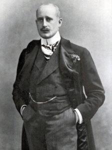 «Dr. Bringolf als Gesandschaftsattaché», Abbildung aus der Autobiografie von 1927.