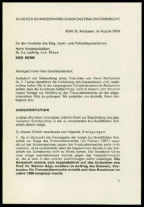 Un pamphlet contre le suffrage féminin.