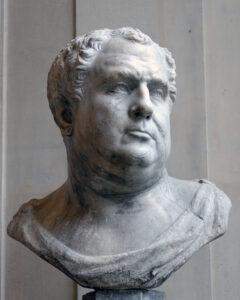 Marmorbüste von Kaiser Vitellius.