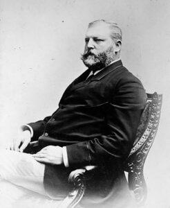 Portrait of Federal Councillor Emil Frey.