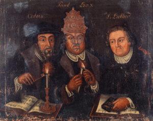 Allegory of the correct faith, 1685–1700.