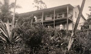 Haus der Familie Bertoni, um 1900.
