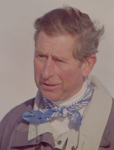 Prince Charles in Klosters on January 5, 1999.