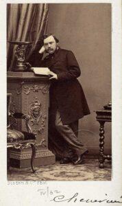 Portrait of Arthur Chenevière.