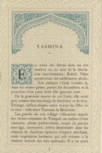 Page de «Contes et paysages», une œuvre d'Isabelle Eberhardt.
