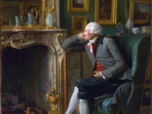 Henry-Pierre Danloux, Le Baron de Besenval dans son salon de compagnie, 1791, huile sur toile, London, National Gallery, NG 6598