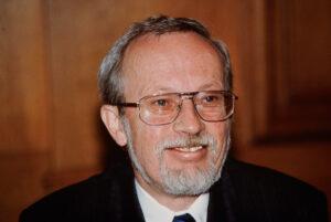 Lothar de Maizière in Bern on 10 September 1990.