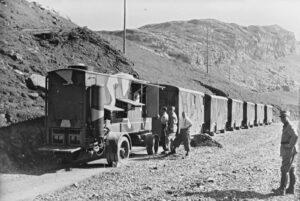 Der «fahrbare Landessender» in Melchsee-Frutt 1946