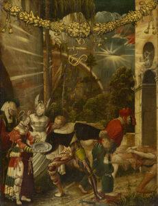 Décollation de saint Jean-Baptiste, vers 1517.