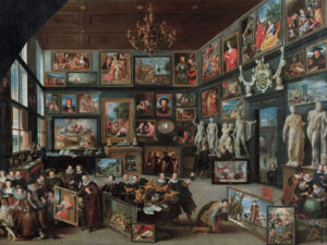 La galerie de Cornelis van der Geest, Willem van Haecht (1593-1637), 1628.
