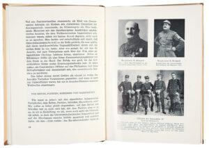 Doppelseite aus dem Buch «Ein Schweizer Abenteurer in fremden Diensten», erschienen in der 4. Auflage 1950.