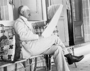 Fotografie von Hermann de Pourtalès, 1899.