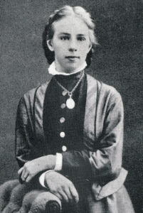 Porträt von Emilie Kempin-Spyri, um 1885.
