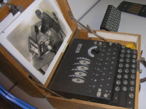 The Enigma-K, which Switzerland used during World War II, was easy to crack.