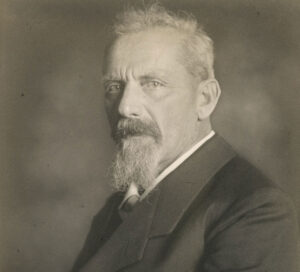 Portrait of Erwin Zschokke, around 1914.