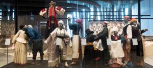 Estonian national costumes.