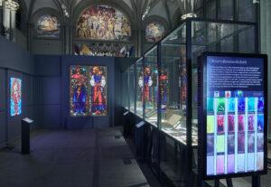 L'œuvre de Giacometti est présentée dans l'exposition «Couleurs révélées par la lumière» dans la salle d'honneur du Musée national Zurich.