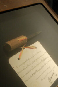 Luigi Lucheni assassinated the Austrian Empress with this file.