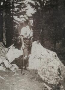 Fernand Gigon um 1926.